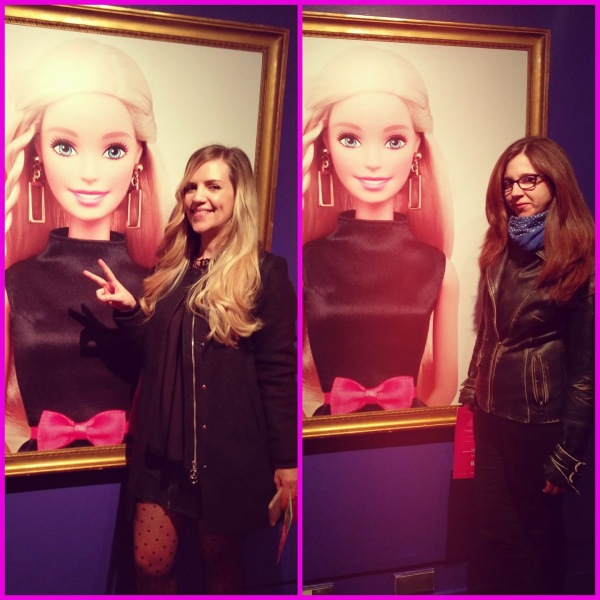 Azu y yo en Expo Barbie