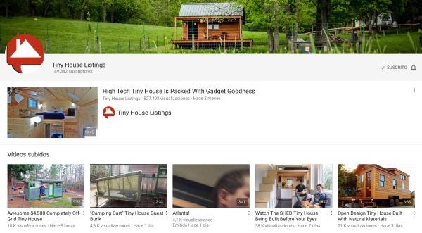 Tiny Houses Listings