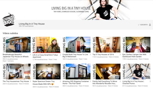 Linking big in a tiny house