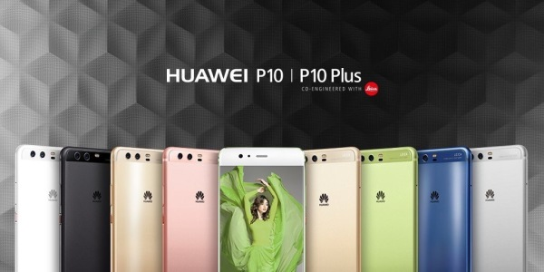 Colores del Huawei P10 y Huawei P10 Plus