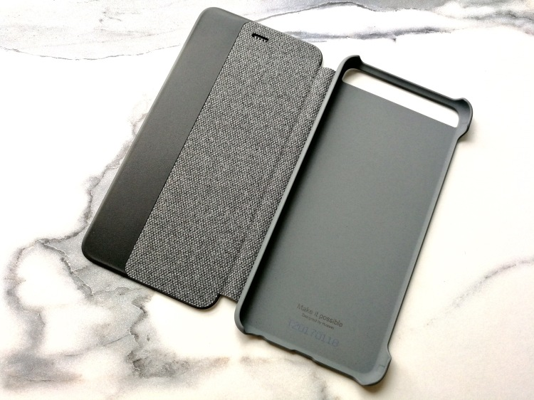 Funda Smart View Cover oficial para Huawei P10 02