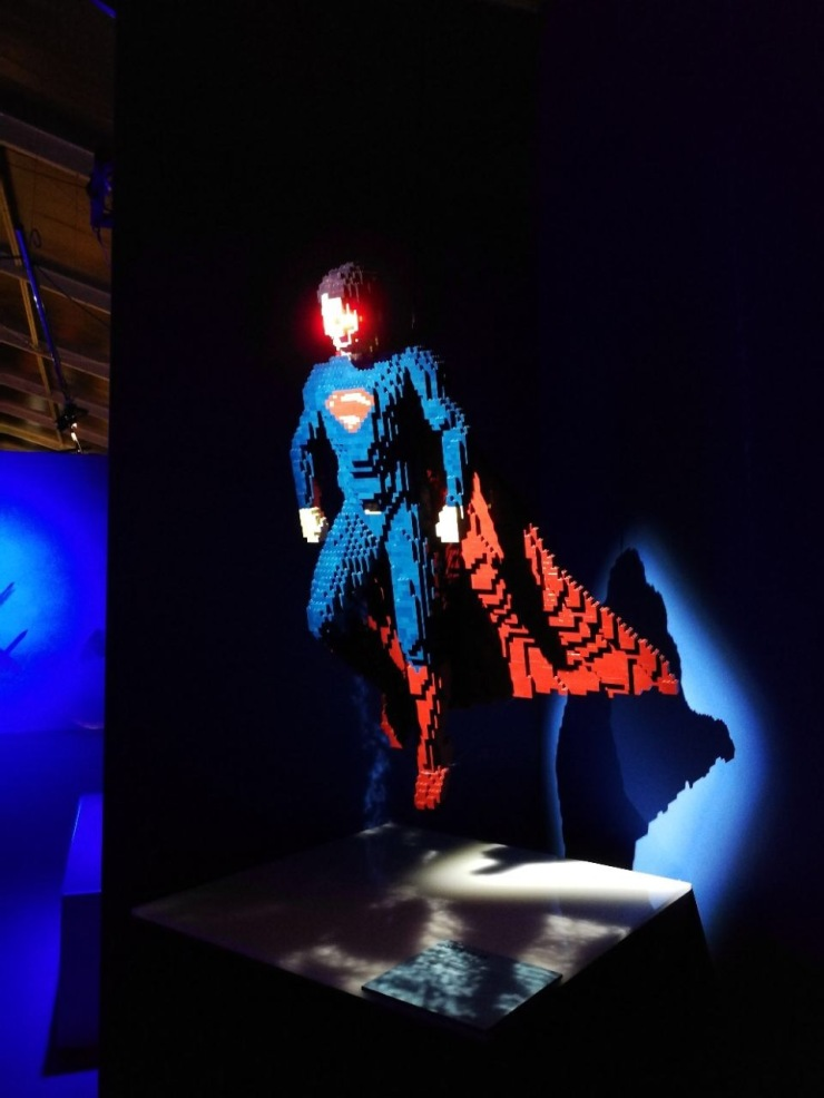 The Art of The Brick: DC Super Heroes 06