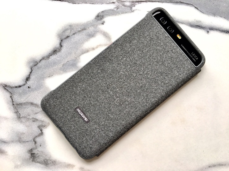 Funda Smart View Cover oficial para Huawei P10 07
