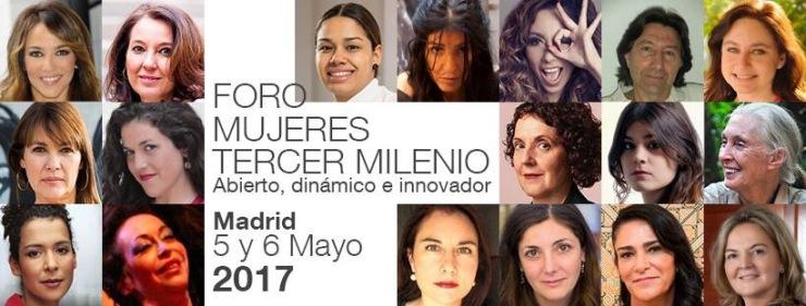 Foro Mujeres del Tercer Milenio - Fundación Mujeres Felices