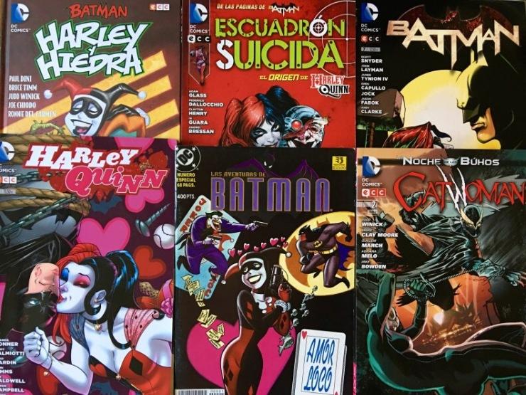 Mi colección de cómics de Harley Quinn