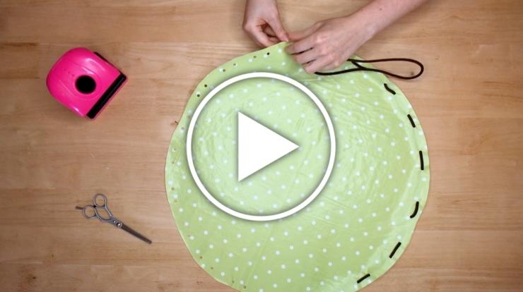 Ver en Cosmo el vídeo DIY neceser con autocierre