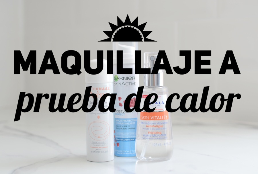 Sprays faciales verano 2017 destacada