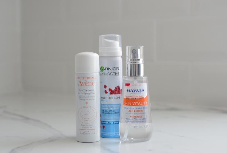 Sprays faciales verano 2017