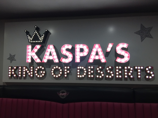 Kaspas King of Desserts Exeter