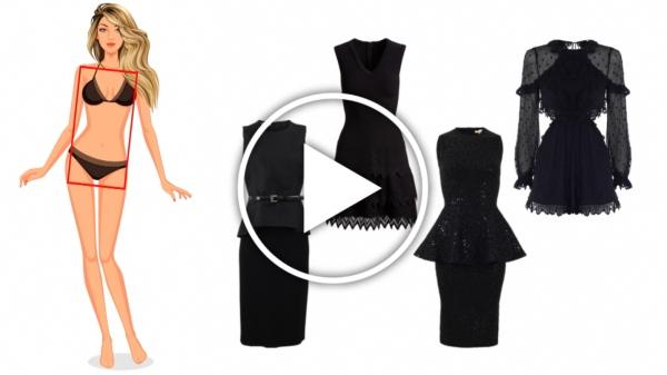 Ver en Cosmo vídeo tips para elegir tu vestido de fiesta
