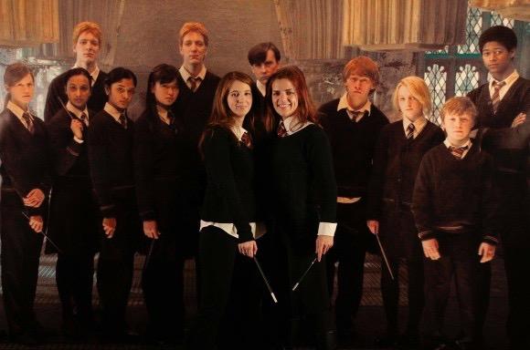 Azu y yo somos del Ejército Dumbledore