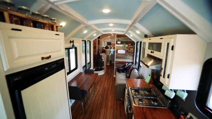 Live Big in a Tiny House - School Bus
