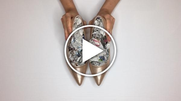 Ver en Cosmo trucos para estrenar zapatos de fiesta