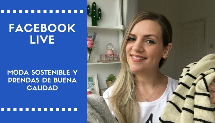Facebook Live Video moda sostenible Bichobichejo
