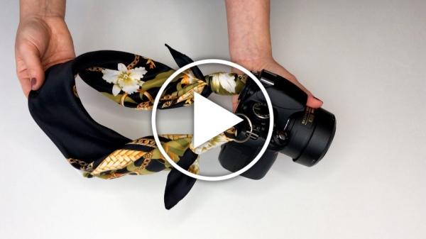Ver vídeo DIY personaliza la correa de tu cámara de fotos