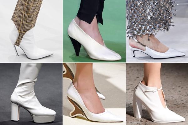 Tendencia zapatos blancos 2018