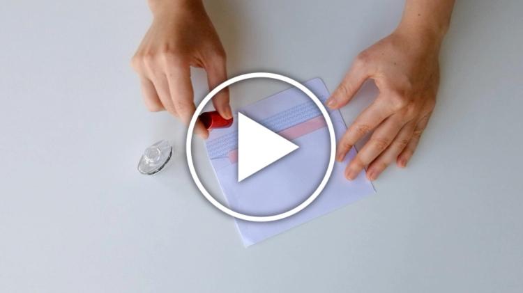 Ver vídeo con trucos caseros usando esmalte de uñas transparente