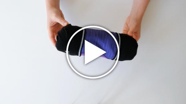 Vídeo truco para doblar la ropa y que ocupe menos