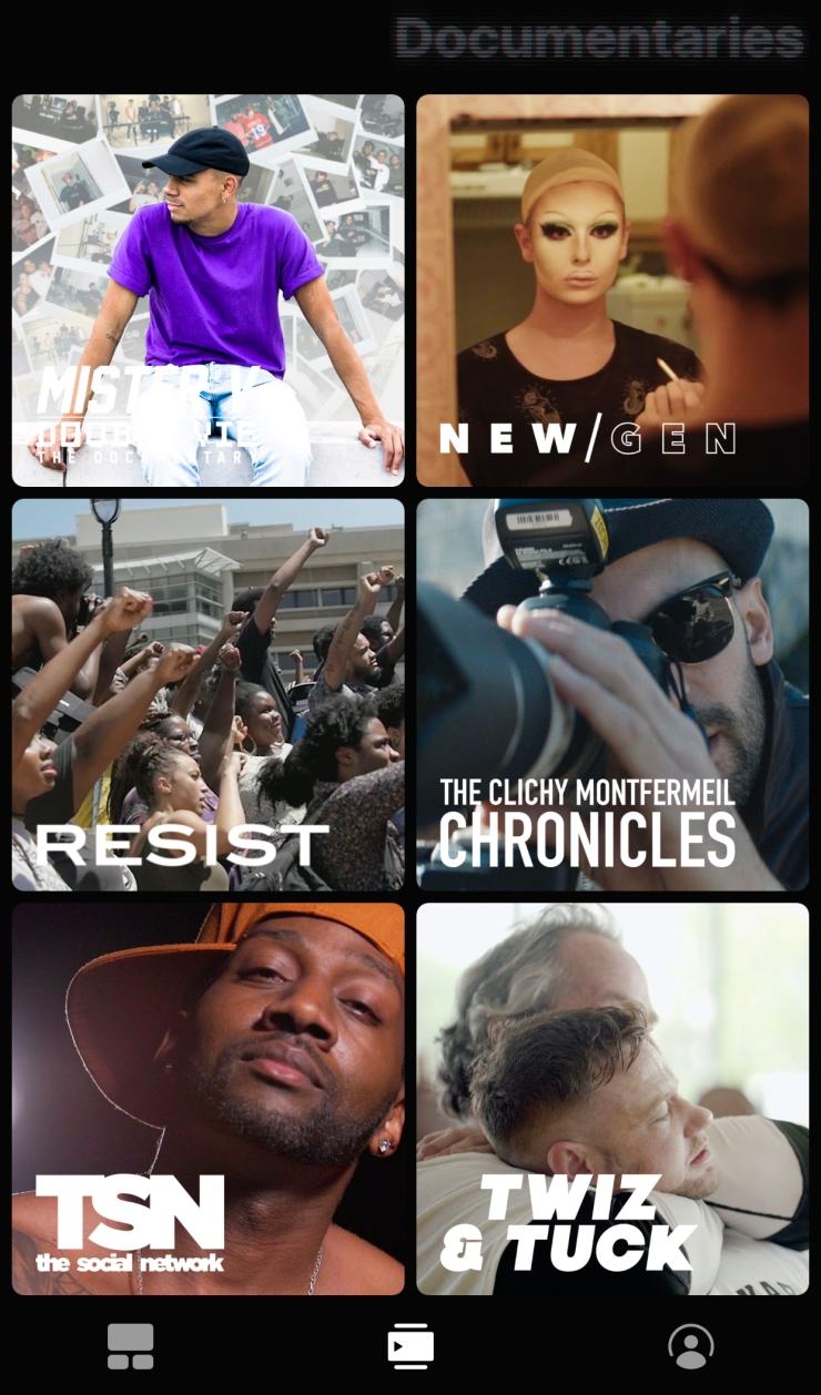 Blackpills app Documentaries