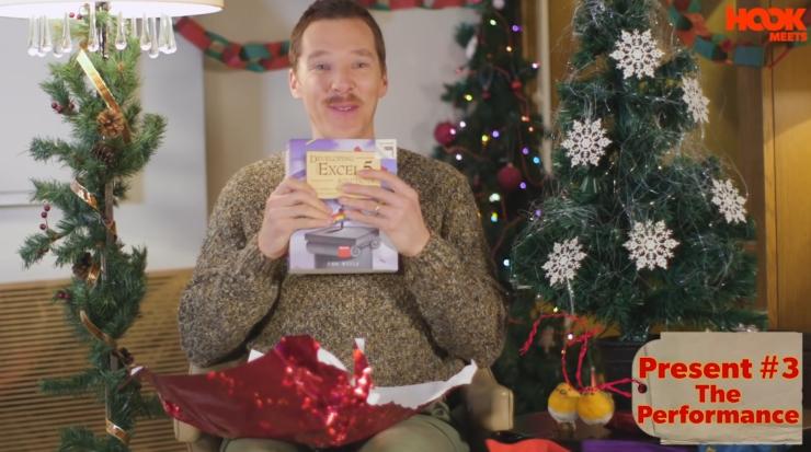 Benedict Cumberbatch regalos de Navidad