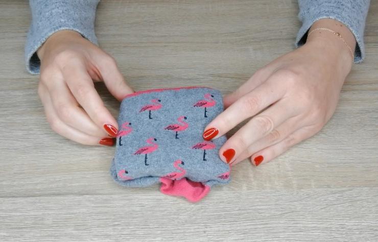 Cómo doblar calcetines y sujetadores
