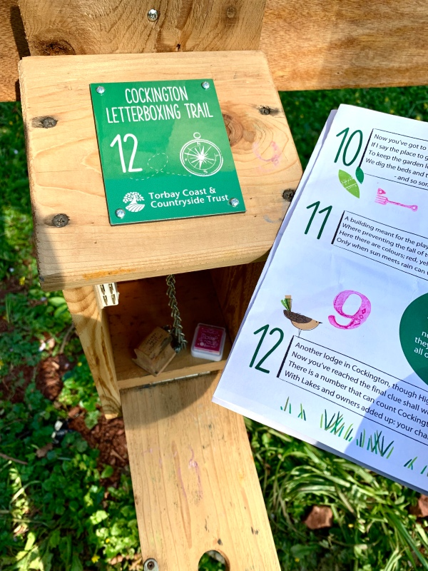 Cockington Letterboxing Trail