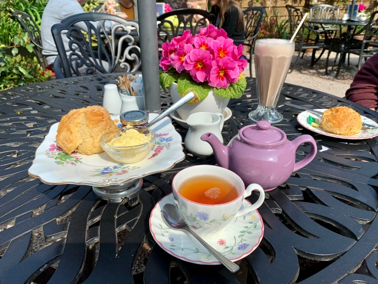 Cream Tea en Cockington