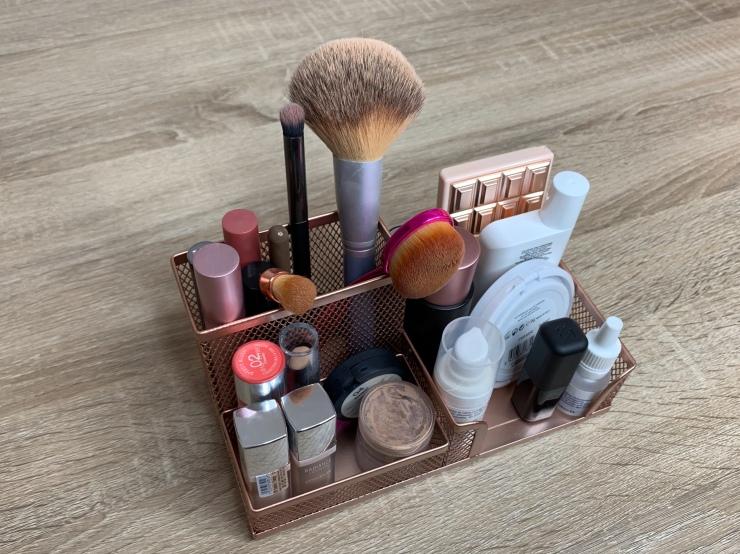 Trucos para ordenar el maquillaje
