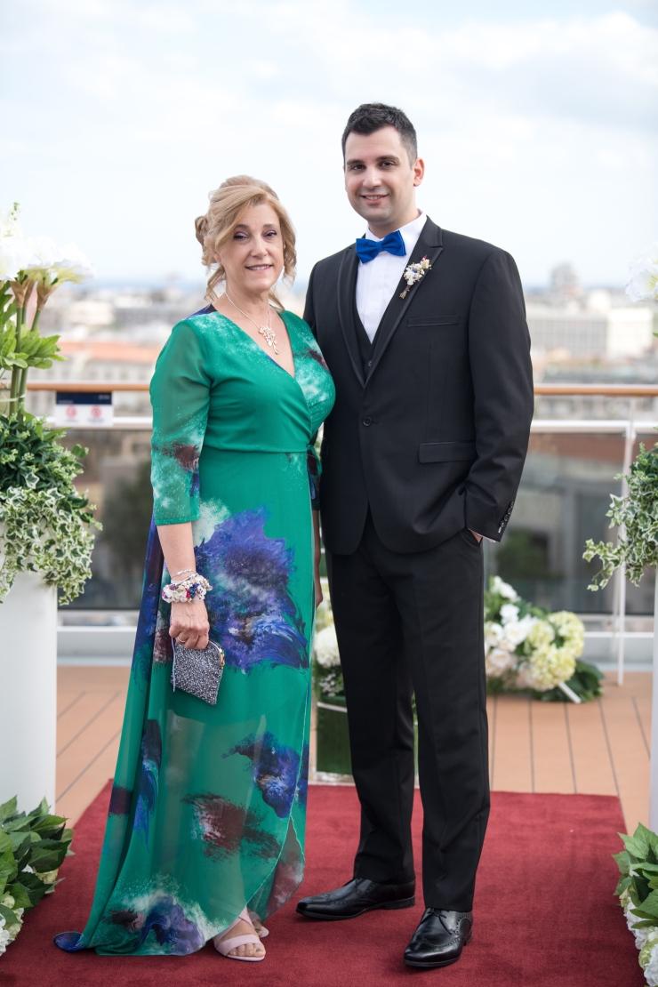 Boda Carmen y Edu MSC Bellissima