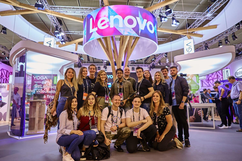 El equipo de Lenovo Champions en IFA 2019