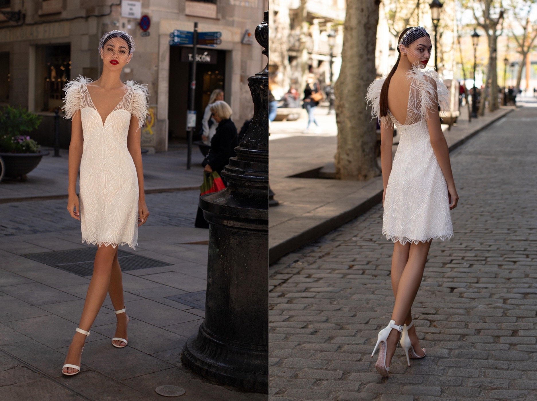 Winter Wedding - Pronovias 2019 vestidos cortos
