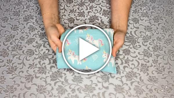 Ver en Cosmo vídeo DIY saquito térmico