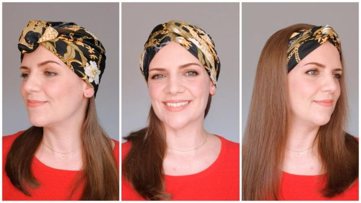 4 formas de llevar un pañuelo o turbante