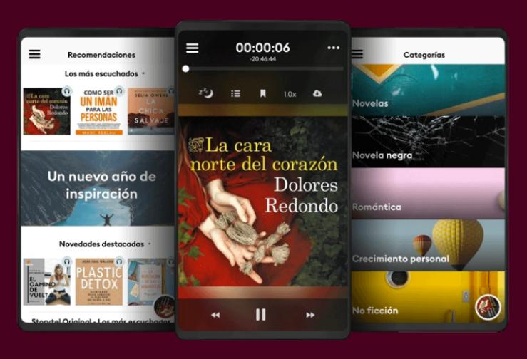 Storytel el Netflix de los audiolibros
