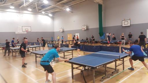 Club de tenis de mesa en UK