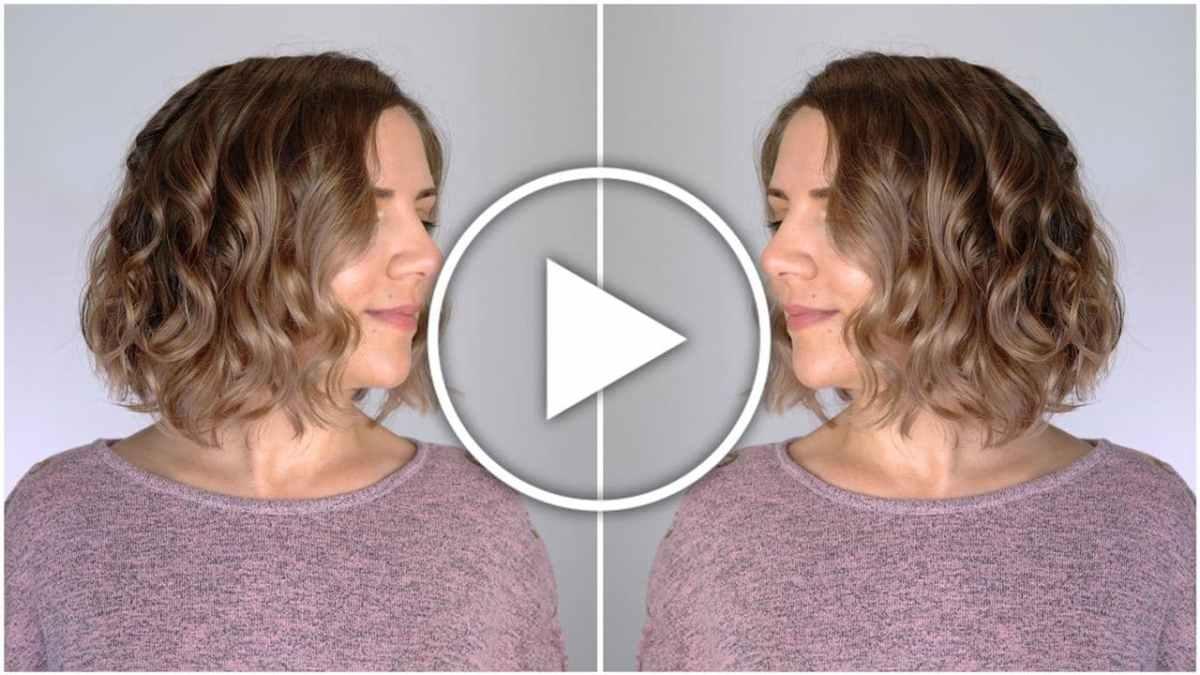 Ver en Cosmo - vídeo rizos con volumen para media melena