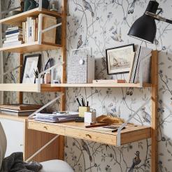 Estanterías con escritorio incorporado (1)