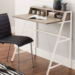 Estanterías con escritorio incorporado (3)