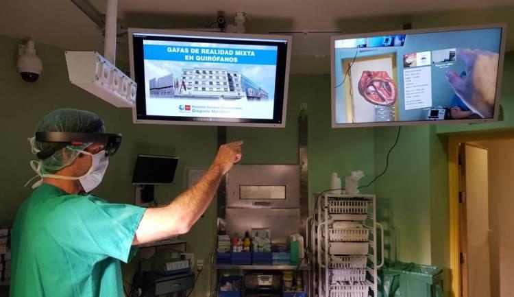 Realidad mixta en el Hospital Gregorio Marañón